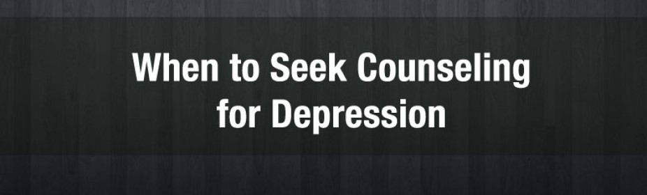 When to seek counseling for depression in Lake Orion MI
